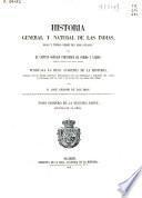 Historia general y natural de las Indias, Islas y Tierra-Firme del Mar Oceano