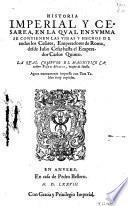 Historia Imperial y Cesarea