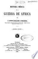 Historia médica de la guerra de África