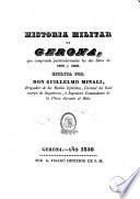 Historia militar de Gerona, que comprende particularmente los dos sitios de 1808 y 1809