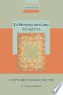 Historia mínima de la literatura mexicana del siglo XIX