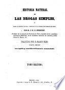 Historia natural de las drogas simples