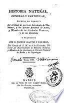 Historia natural, general y particular
