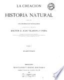 *Historia natural : la creacion