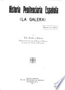 Historia penitenciaria española: la galera