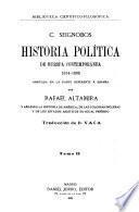 Historia política de Europa contemportánea, 1814-1896