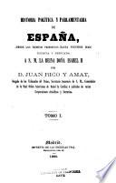 Historia política y parlamentaria de España