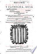 Historia pontifical y catholica. 4. impr