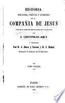 Historia religiosa politica y literaria de la compania de Jesus ...