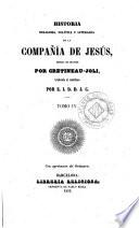 Historia religiosa, política y literaria de la Compañía de Jesús