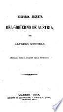 Historia secreta del Gobierno de Austria
