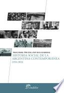 Historia social de la Argentina contemporánea (1930-2003)