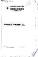 Historia universal: (486 p.)