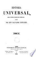 Historia Universal, desde los tiempos más remotos hasta nuestros días