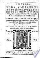 Historia, vida, milagros extasis, ... de ... Sor Juana de la Cruz