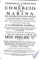 Historia y politica de Comercìo y de Marina ...