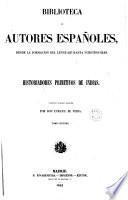 Historiadores de Indias, 2 (Biblioteca Autores Españoles, 26)