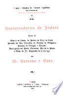 Historiadores de Indias ...