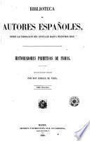 Historiadores primitivos de Indias, 2