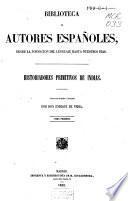 Historiadores primitivos de Indias: Cartas de relacion de Fernando Cortés. Hispania victrix