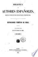 Historiadores primitivos de Indias collección dirigida e ilustrada por don Enrique de Vedia