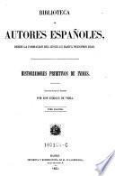 Historiadores primitivos de Indias ; tomo 2