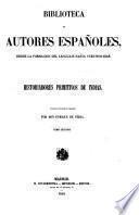 Historiadores primitivos de Indias: Verdadera historia de la conquista de la Nueva-España
