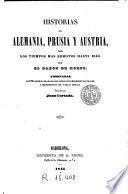Historias de Alemania, Prusia y Austria