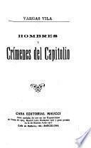 Hombres y crímenes del capitolio