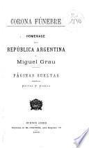 Homenage de la República Argentina á Miguel Grau
