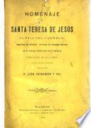 Homenaje a Santa Teresa de Jesús gloria del carmelo
