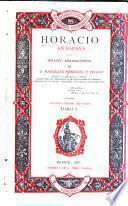 Horacio en España: Traductores castellanos, portugueses gallegos, asturianos y catalanes de Horacio