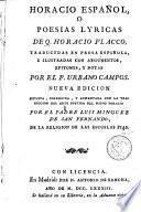 Horacio español, o Poesias lyricas de Q. Horacio Flacco