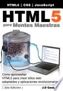 HTML5 para Mentes Maestras, 2da Edición