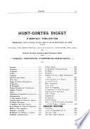 Hunt-Cortes Digest