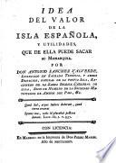 Idea del valor de la isla Española