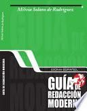 Idioma español, guía de redacción moderna