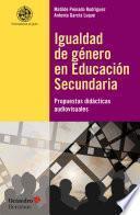 Igualdad de género en Educación Secundaria
