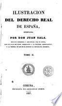 Ilustracion del derecho real de España, 2