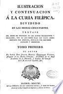 Ilustración y continuación a la Curia filípica