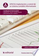 Implantación y control de un sistema contable informatizado. ADGD0108