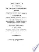 Importancia de la historia de la marina española