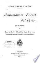 Importancia social del arte