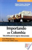 Importando en Colombia