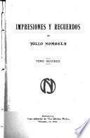 Impresiones y recuerdos de Julio Nombela ...