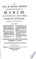 In quo continentur Vita Mariae Stuartae, Scotiae Reginae, &c. Scriptore Geo. Conaeo, Scoto