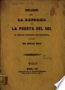 Indicaciones sobre la reforma de la Puerta del Sol y otros puntos de Madrid