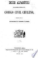 Índice alfabético de las materias contenidas en el Código civil chileno, compuesto