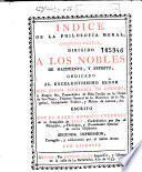 Indice de la philosophia moral christiano-politica