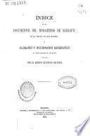 Índice de los documentos del monasterio de Sahagun